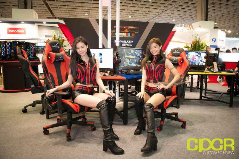 computex booth babes 2017 custom pc review 9640