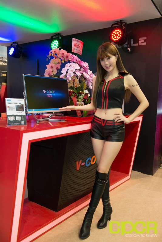 computex booth babes 2017 custom pc review 9654