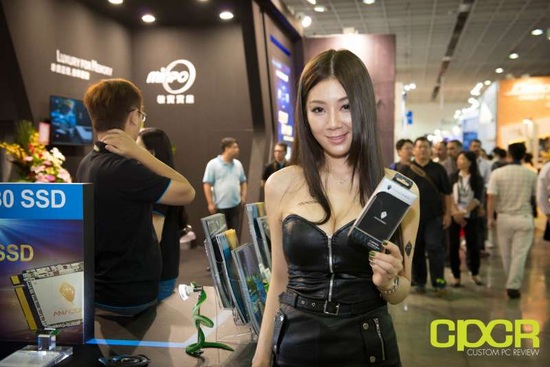 computex booth babes 2017 custom pc review 9670