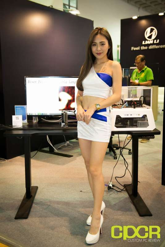 computex booth babes 2017 custom pc review 9672