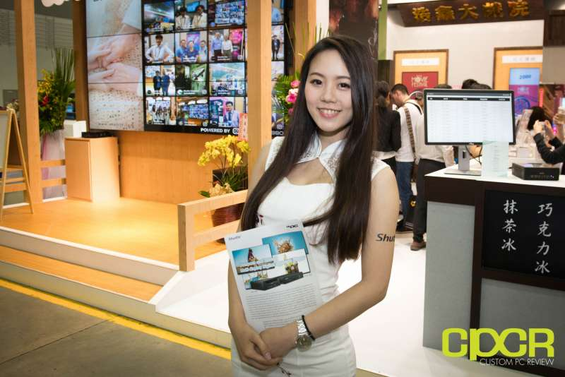 computex booth babes 2017 custom pc review 9689