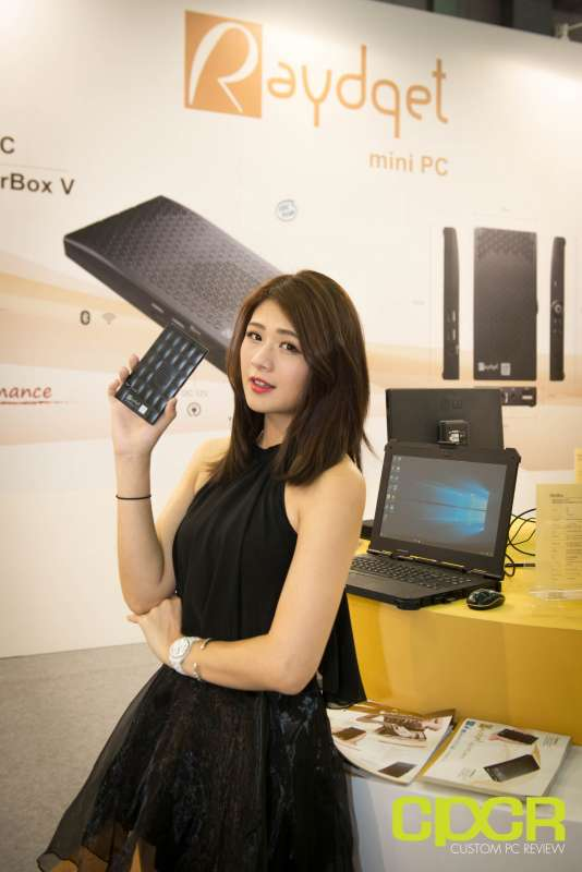 computex booth babes 2017 custom pc review 9693