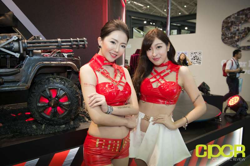 computex booth babes 2017 custom pc review 9706