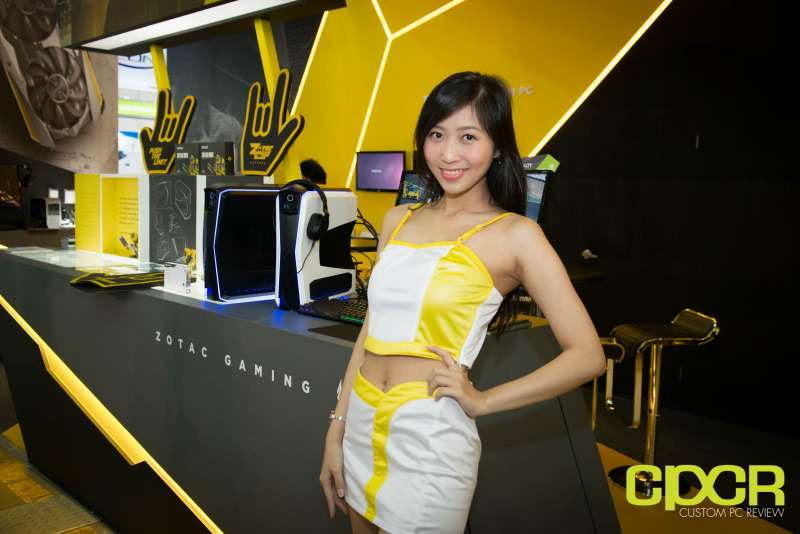 computex booth babes 2017 custom pc review 9709