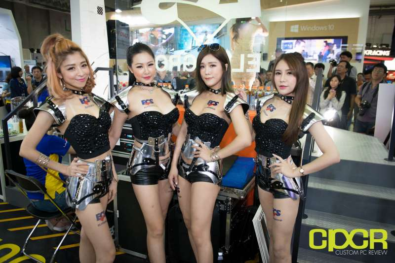 computex booth babes 2017 custom pc review 9718