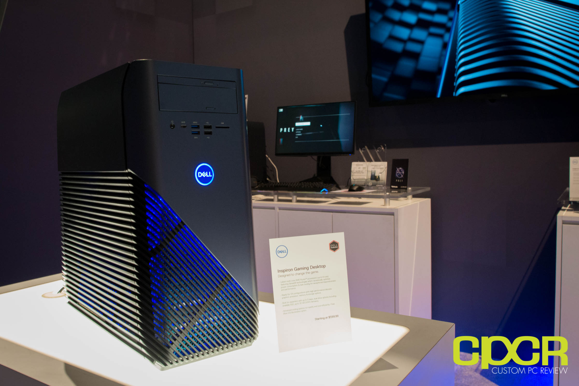 AMD Scores Major Win in Dell Inspiron 5675 Gaming Desktop at E3 2017 | Custom PC Review