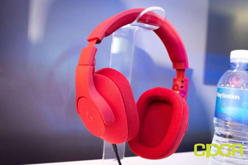 logitech g433 gaming headset e3 2017 2813