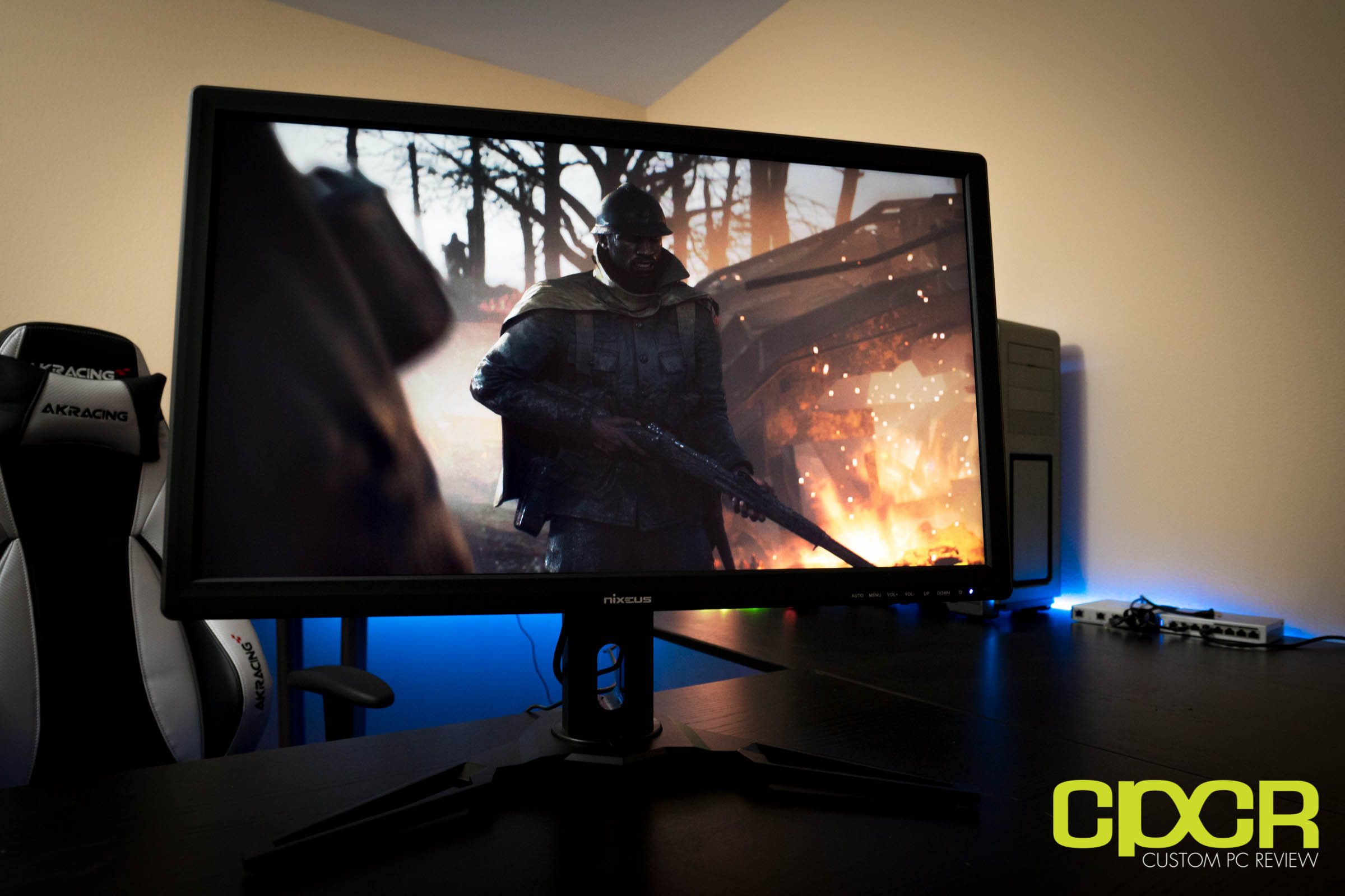 Nixeus NX-EDG27 Review | 27-inch 144Hz FreeSync Gaming