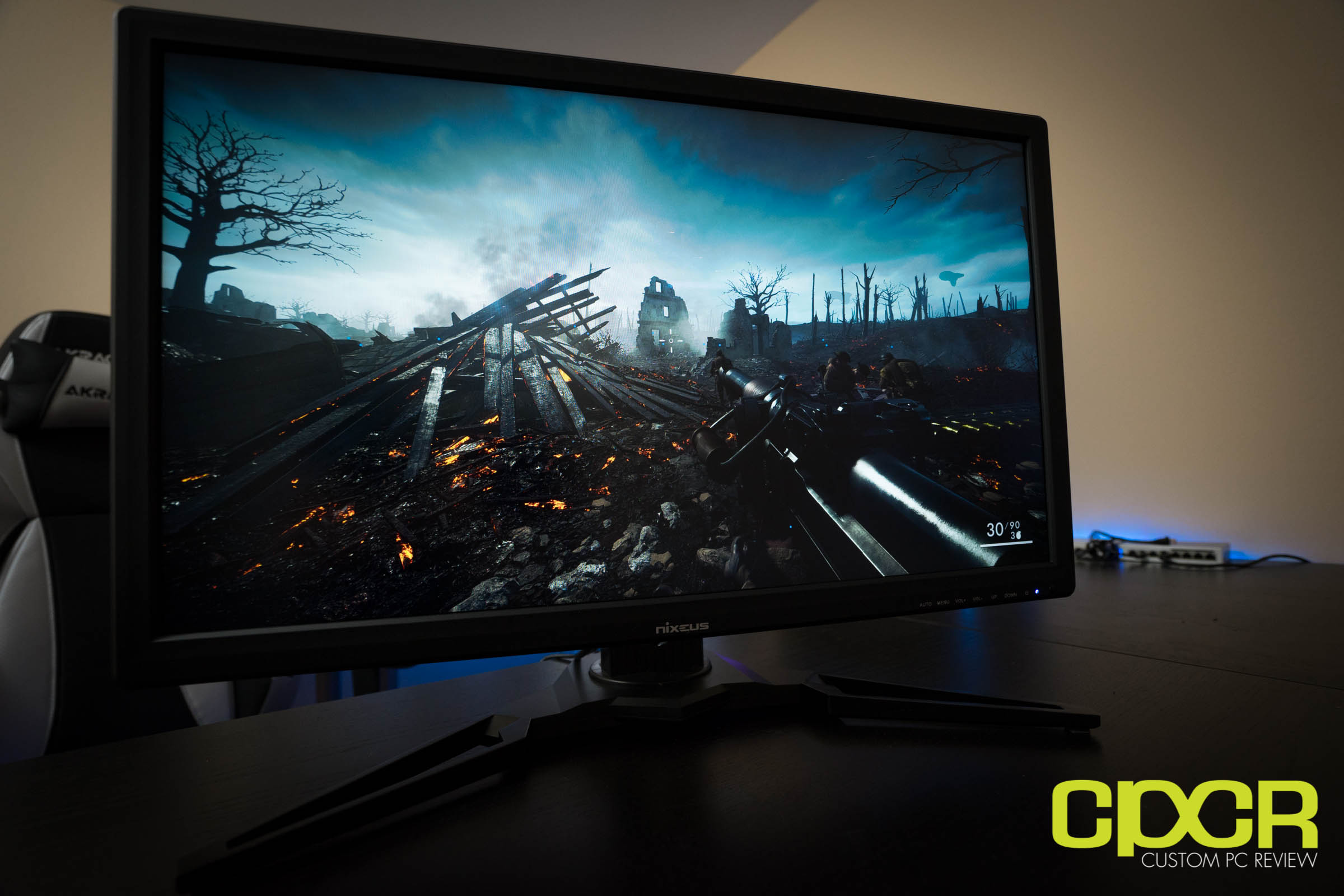 nixeus nx edg27 gaming monitor custom pc review 01454