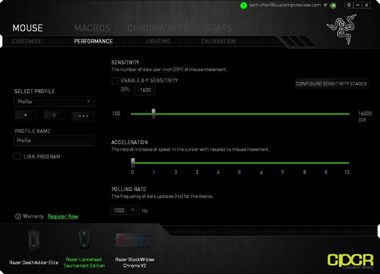 Razer Lancehead Te Review Tournament Edition Gaming