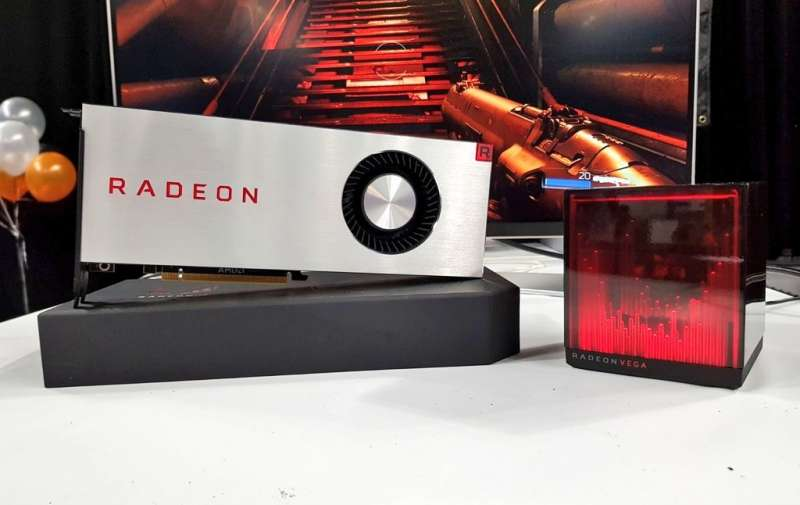 amd radeon rx vega launch image