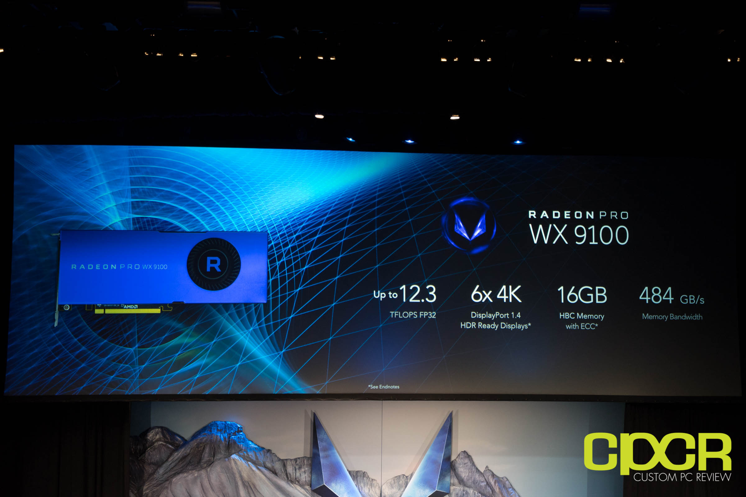 AMD Unveils Radeon Pro WX9100 and Pro SSG for 4K and 8K
