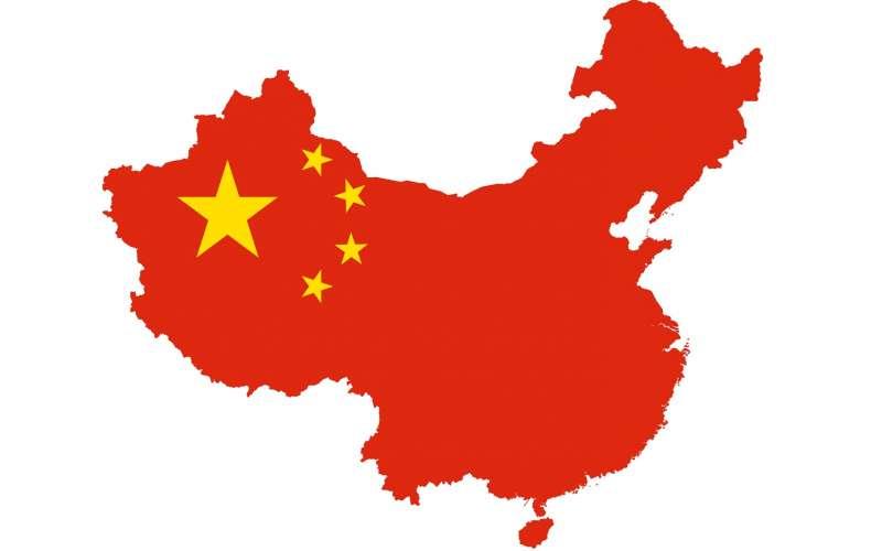 china image map