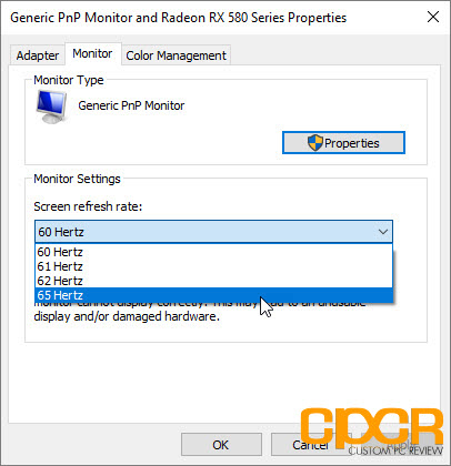 How to Overclock Your Monitor with an AMD Graphics Card | Custom PC