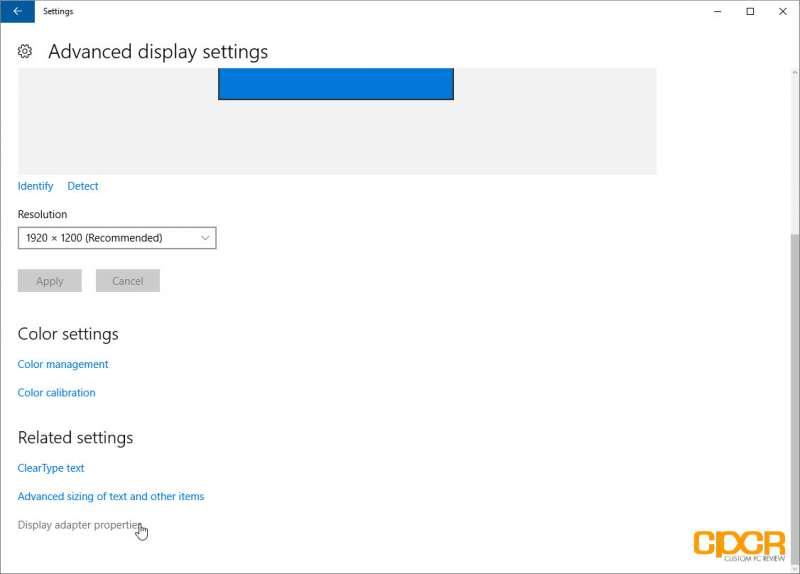 overclock monitor using amd graphics card custom pc review 04