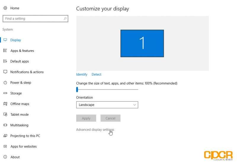 overclock monitor using amd graphics card custom pc review 05