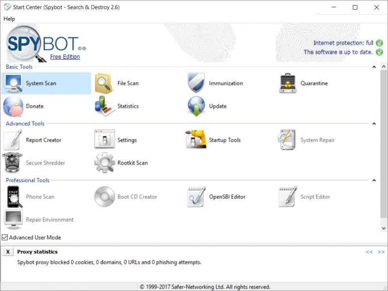 spybot best malware removal custom pc review 1
