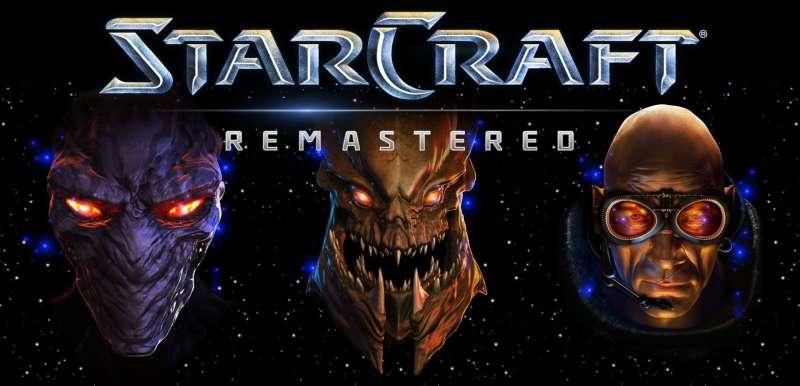 starcraft remastered logo press image