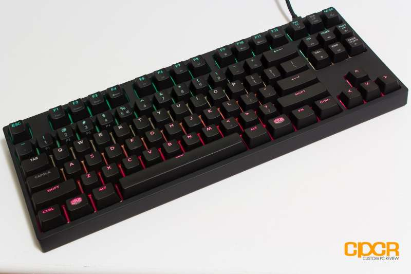 cooler master master keys custom pc review 1