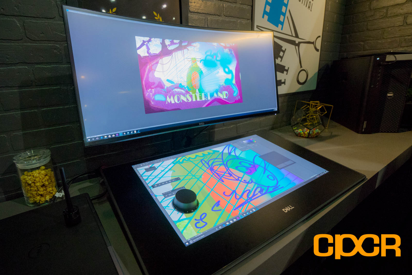 Dell Shows Off Epic Canvas 27 Inch Pen Display At Siggraph