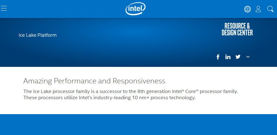 Intel Ice Lake Appears, Confirmed to Use 10nm+ FinFET