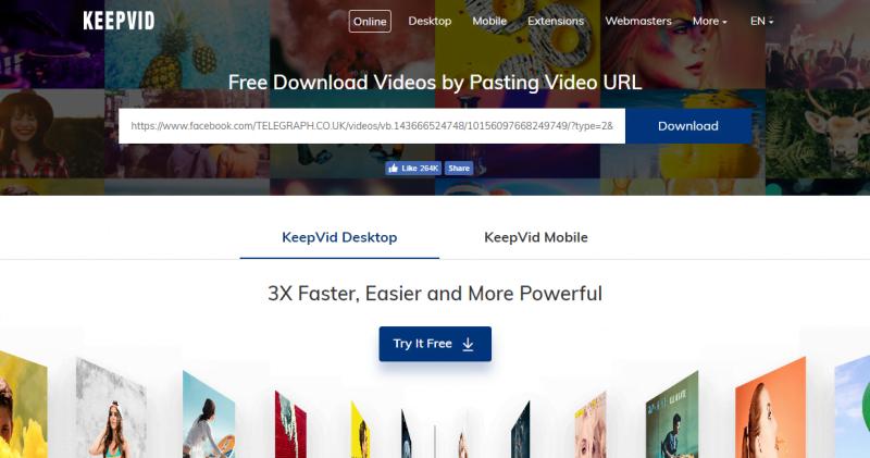 keepvid save download facebook videos computer 01