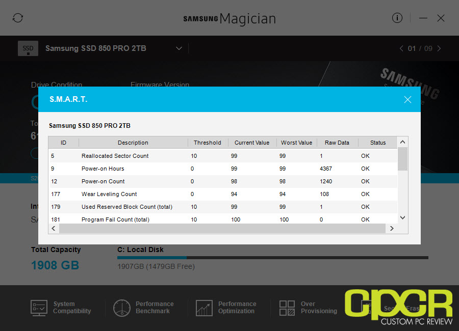 Samsung Magician 5 1 Overview | Custom PC Review
