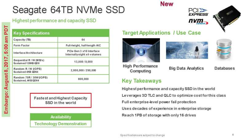 seagate fms 2017 slide deck Page 4