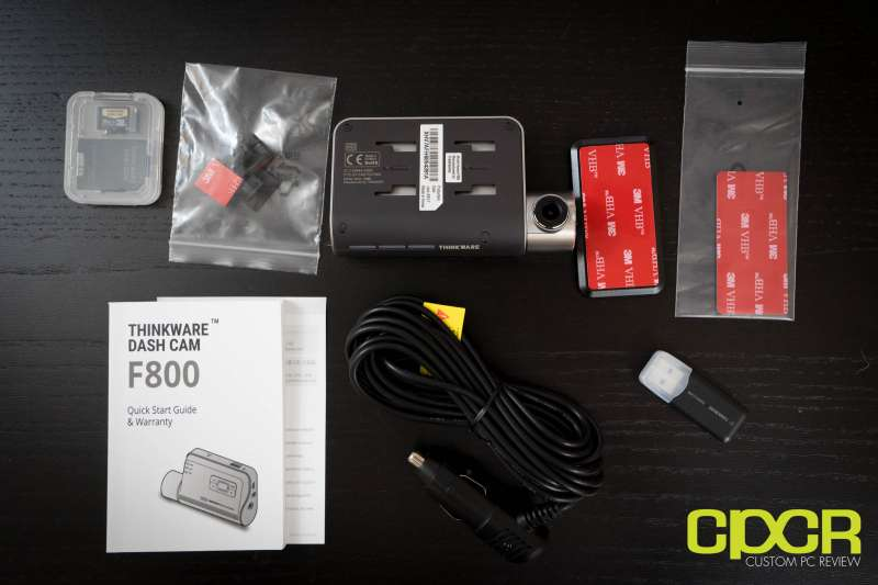 thinkware f800 dashcam custom pc review 01933