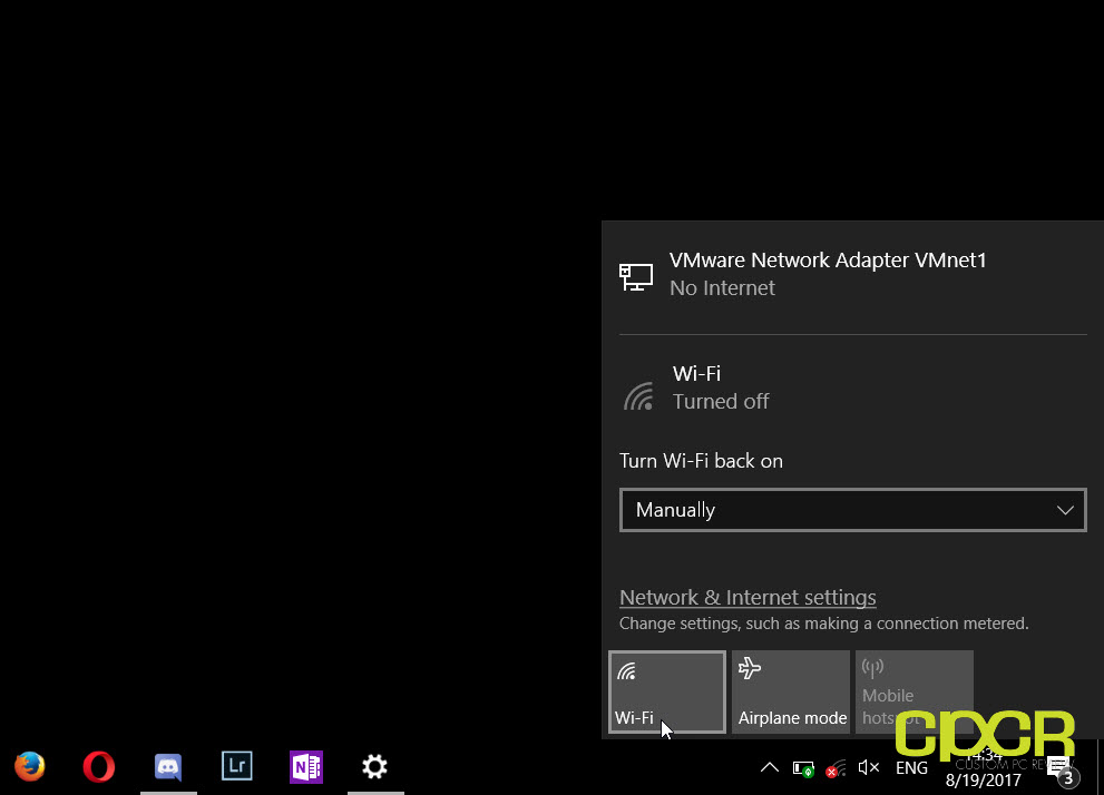 How to Turn On/Off WiFi | Custom PC Review
