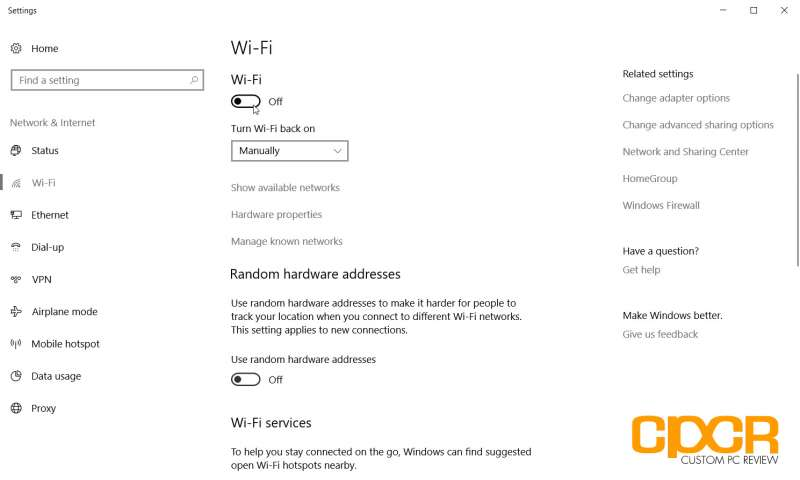 turn on off wifi windows 10 custom pc review 08
