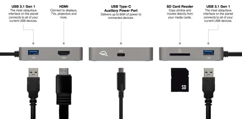 owc usbc travel dock product image 1