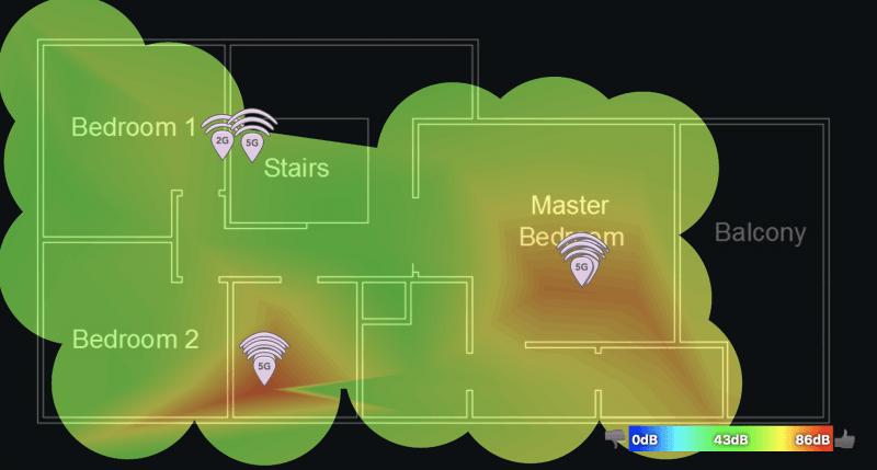 signal heatmap 2f eero gen2 mesh wifi system custom pc review