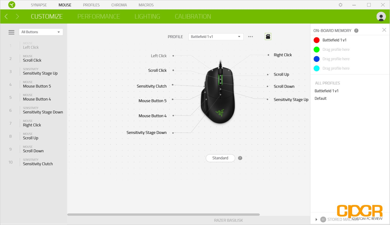 Razer synapse add device