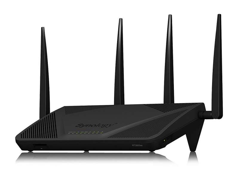 synology rt2600ac router product image
