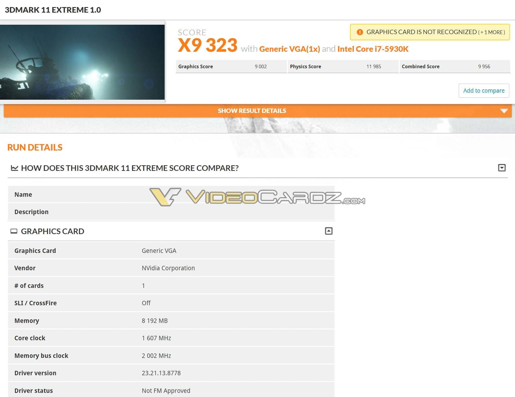 gtx 1070 3d mark extreme 1