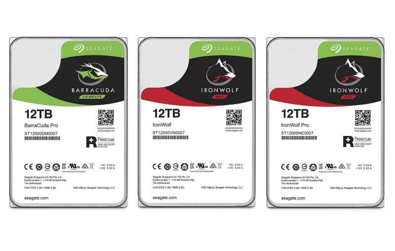 seagate 12tb guardian barracuda pro ironwolf pro product image