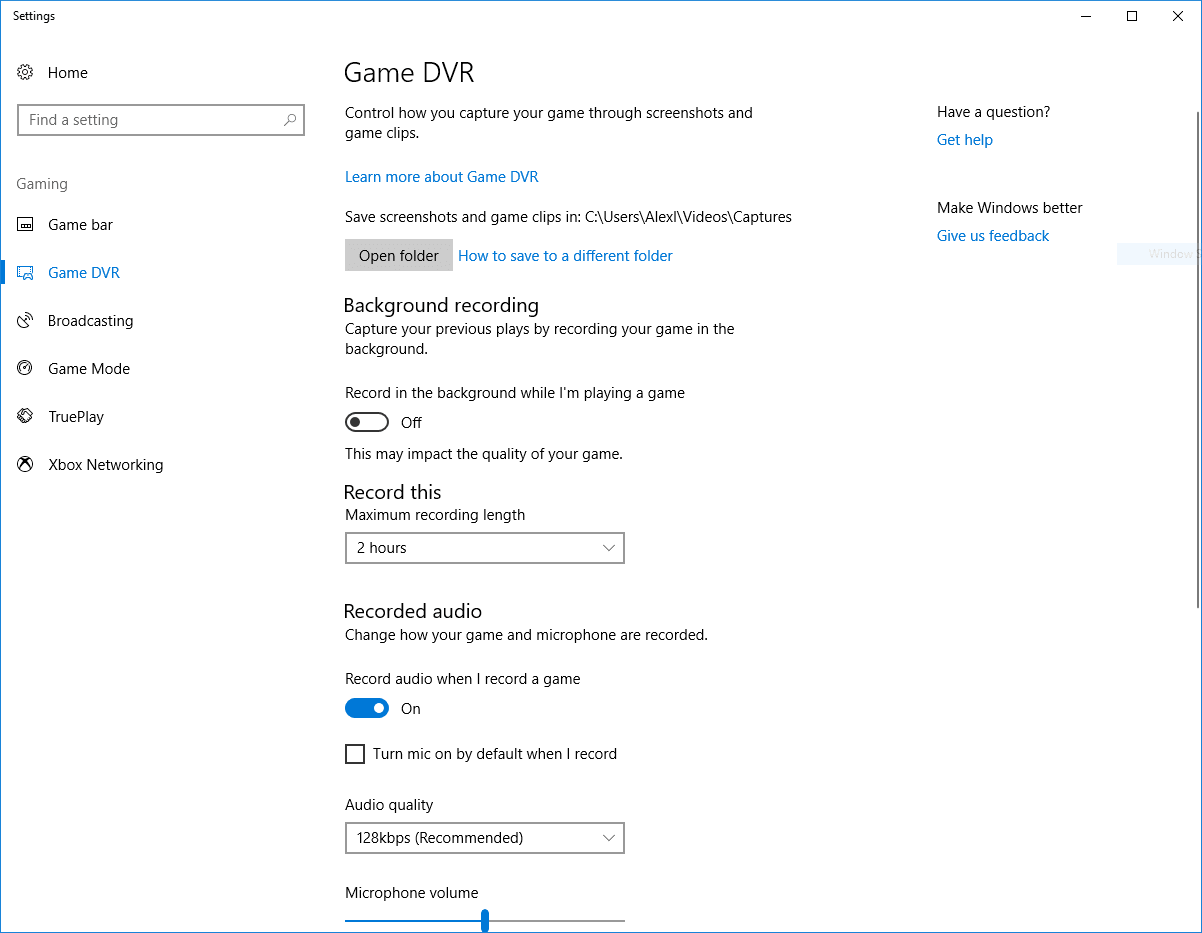 How to Disable Game DVR and Game Bar in Windows 10 | Custom