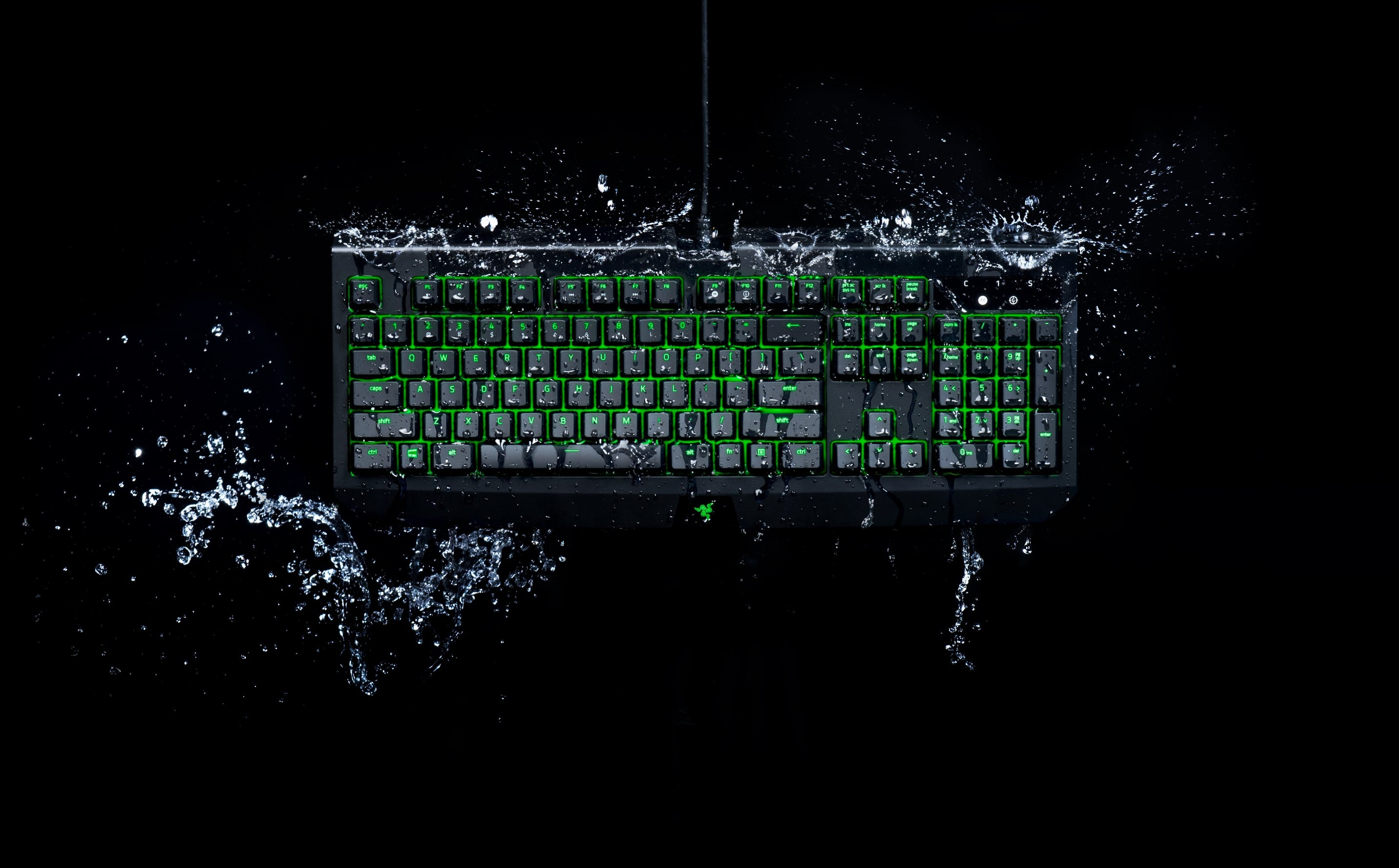 Razer's new mechanical gaming keyboard is water and dust resistant