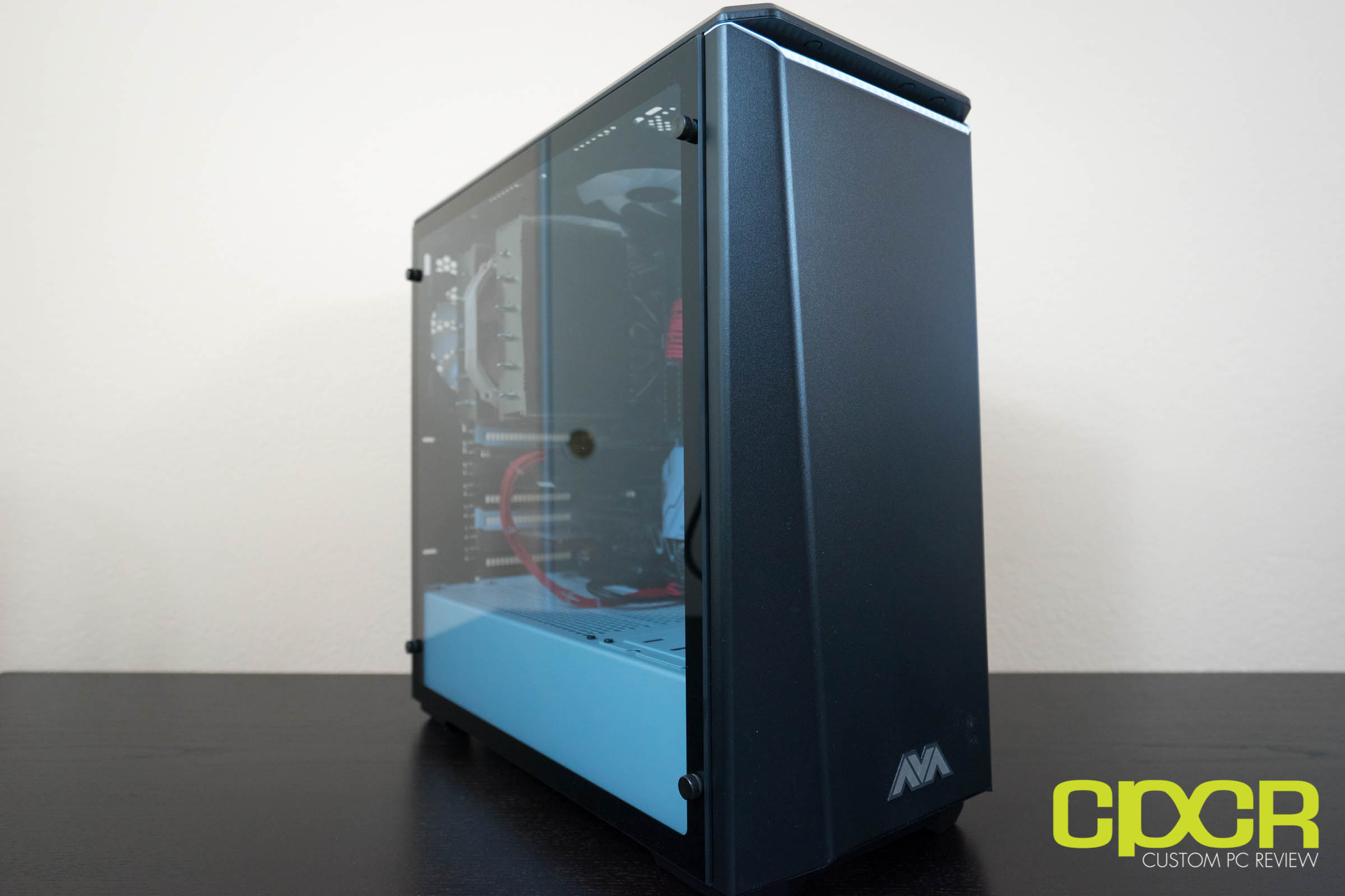 avadirect x370 quiet gaming pc review custom pc review. Black Bedroom Furniture Sets. Home Design Ideas