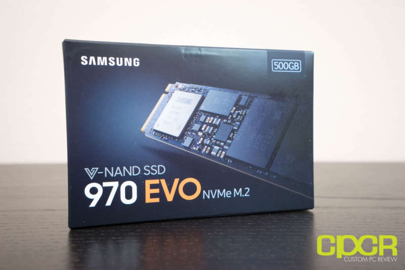 samsung 970 evo 500gb ssd custom pc review 02726