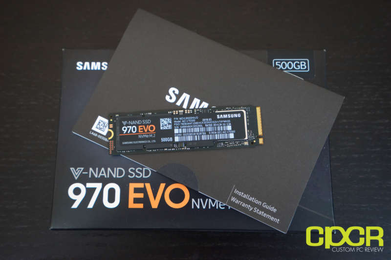 samsung 970 evo 500gb ssd custom pc review 02728