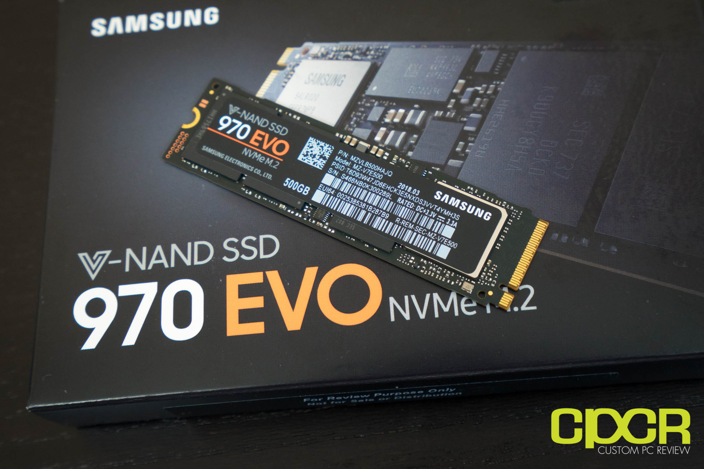 Samsung 970 Evo Review 500gb Client Ssd Custom Pc Review