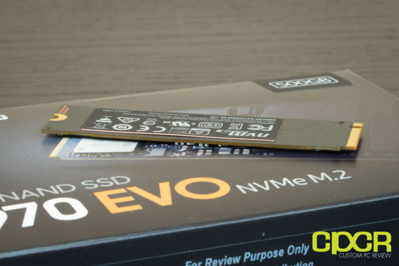 samsung 970 evo 500gb ssd custom pc review 02738