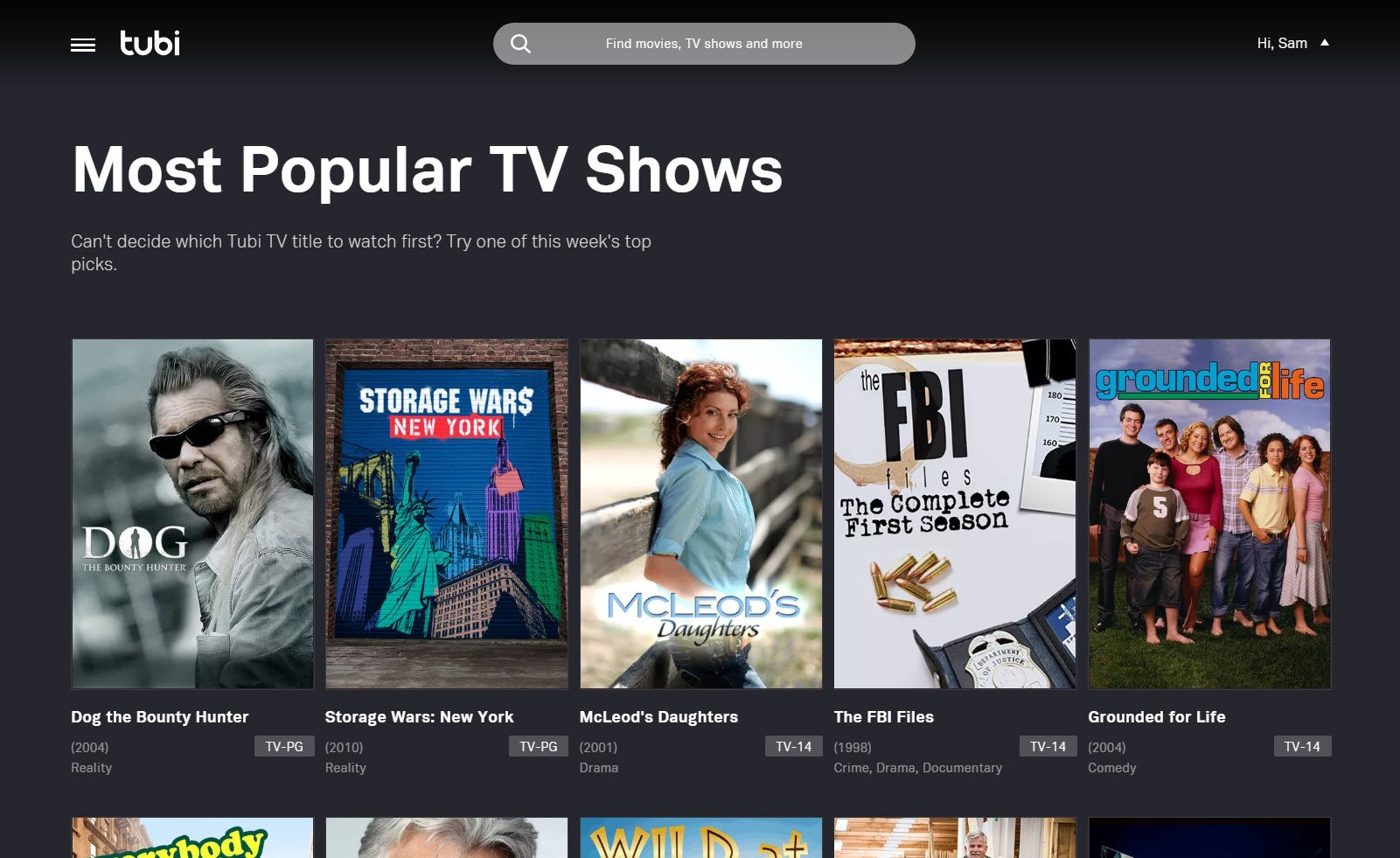 watch tv series free online 2018