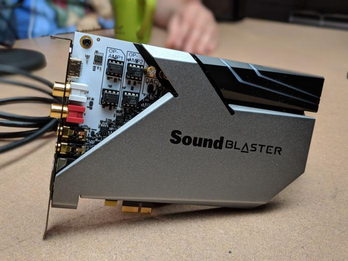 Creative Sound BlasterX AE 9 2